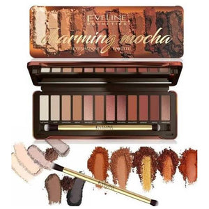 Eveline Charming Mocha Eye Shadow Palette
