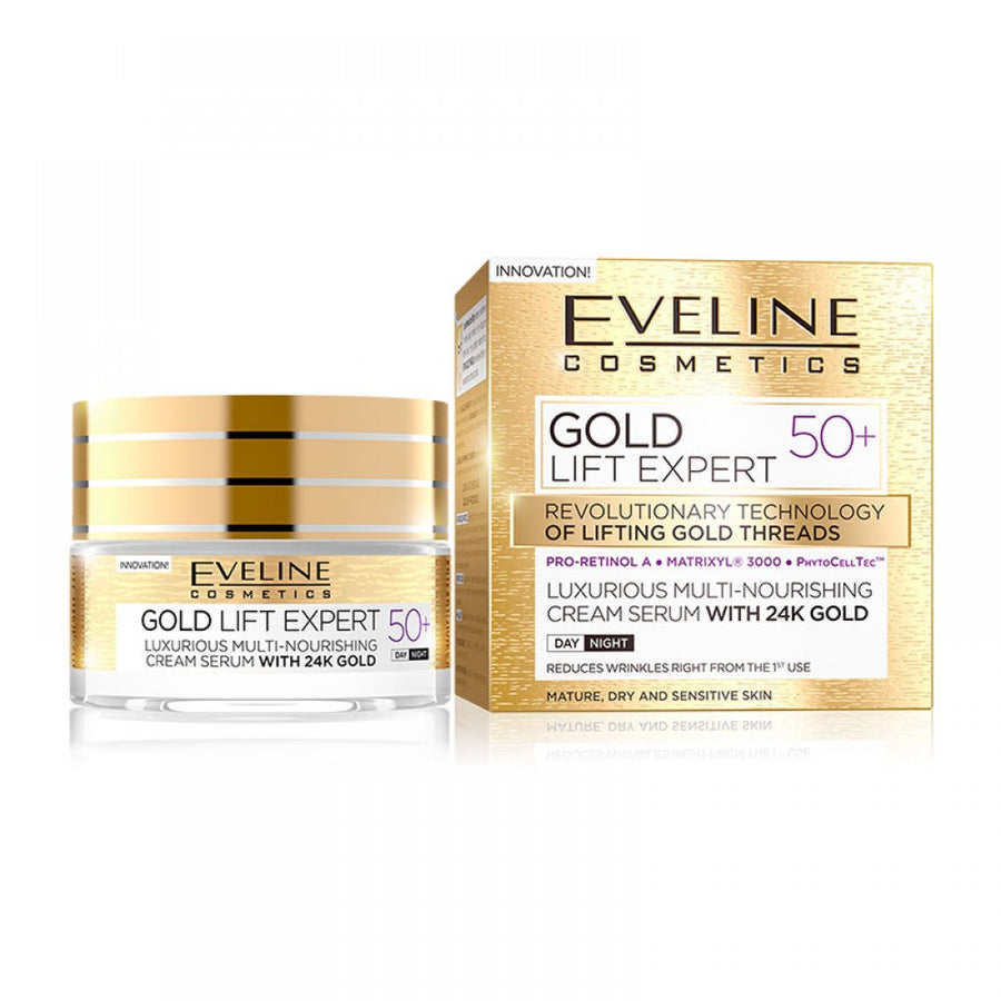 Eveline Cosmetics Gold Lift Expert Day And Night Cream 50+