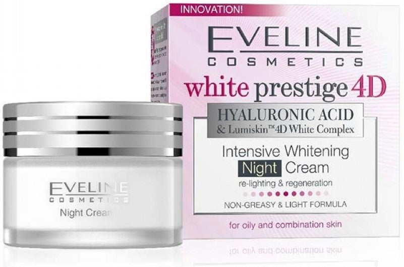Eveline White Prestige 4D Whitening Night Cream 50ml