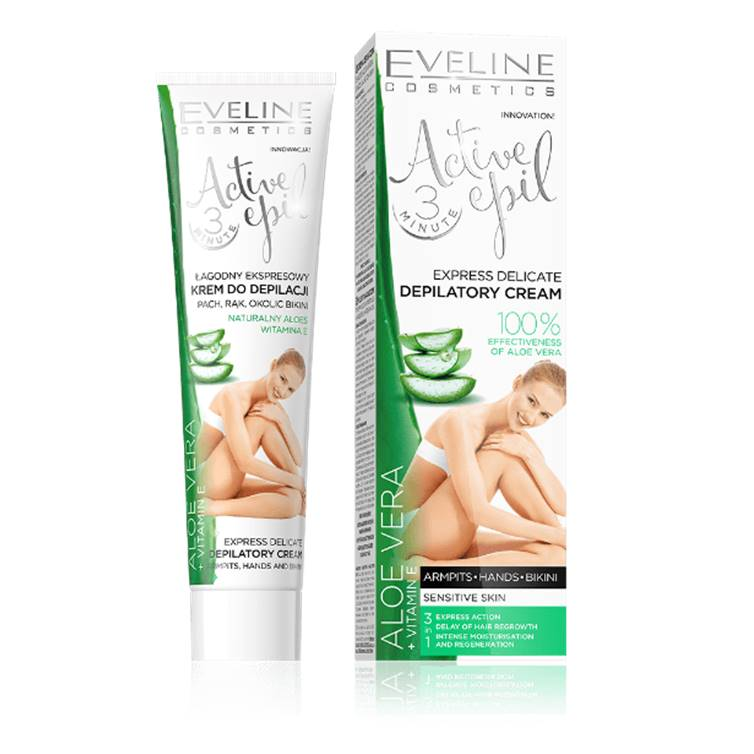 Eveline Depilatory Aloe Vera Sensitive 125 ml