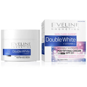Eveline Double Whitening Mattifying Cream 50ml