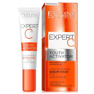 Eveline Expert C Concentrated Serum-Mask Eye and Eyelid