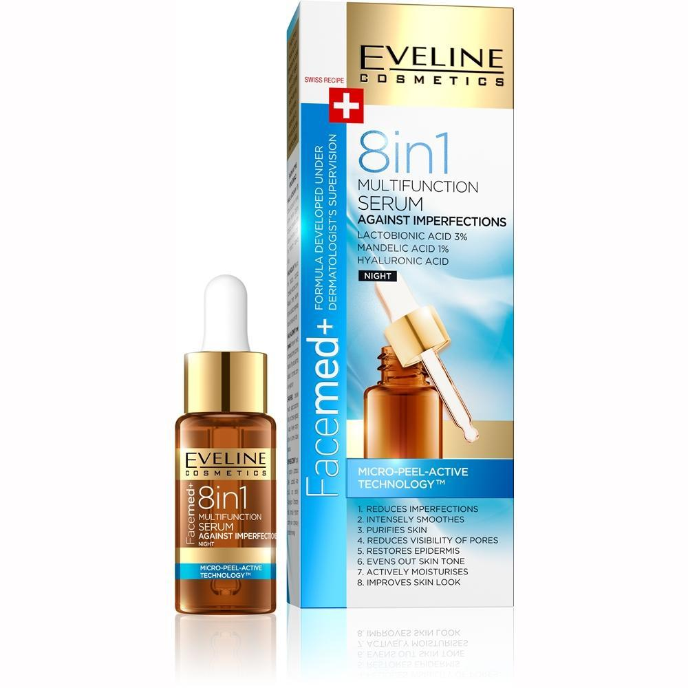 Eveline Face-med+ 8 In 1 Multi-function Serum 18 ml
