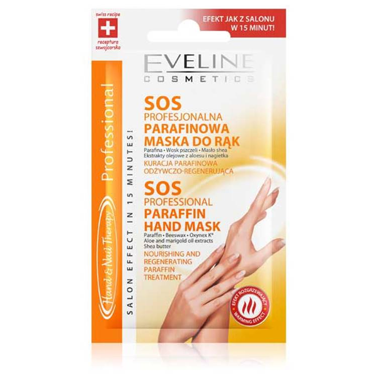 Eveline SOS Professional Paraffin Hand Mask – NEW