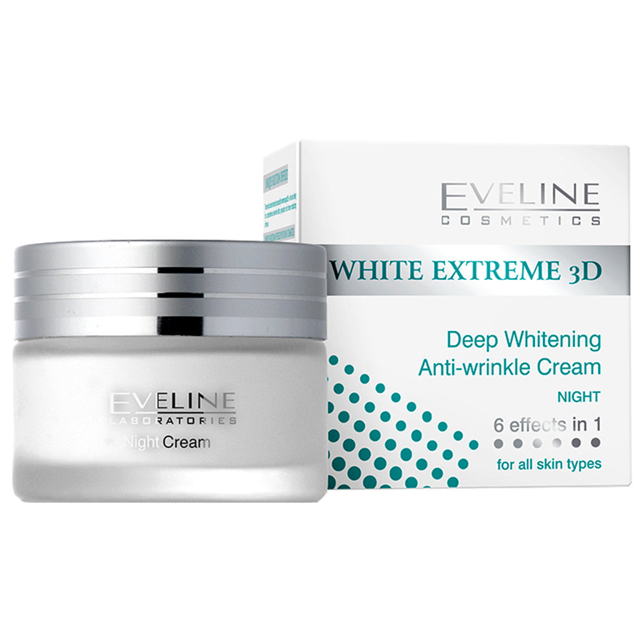 Eveline White Extreme 3D Night Cream 50ml