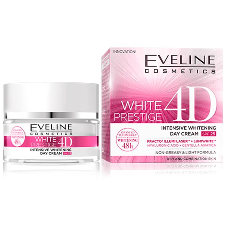 Eveline White Prestige 4D Intensive Whitening Day Cream 50ml