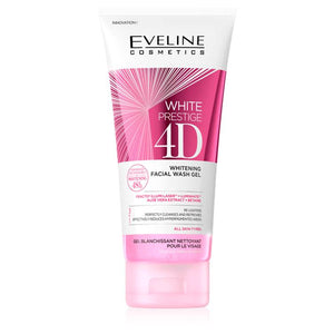 Eveline White Prestige 4D Whitening Facial Wash Gel 200ml