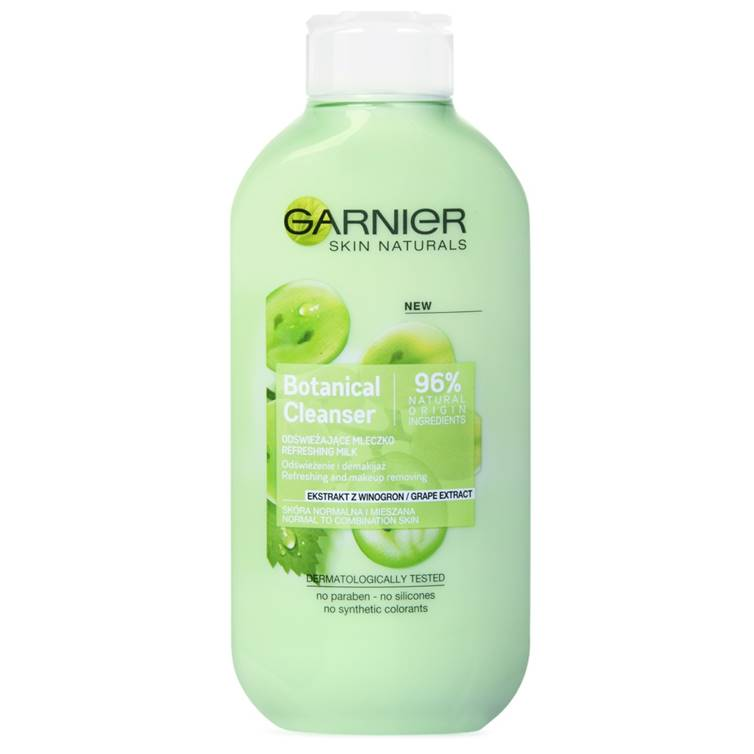Garnier Nourishing Botanical Grape Extracts Cleansing Milk 200ml
