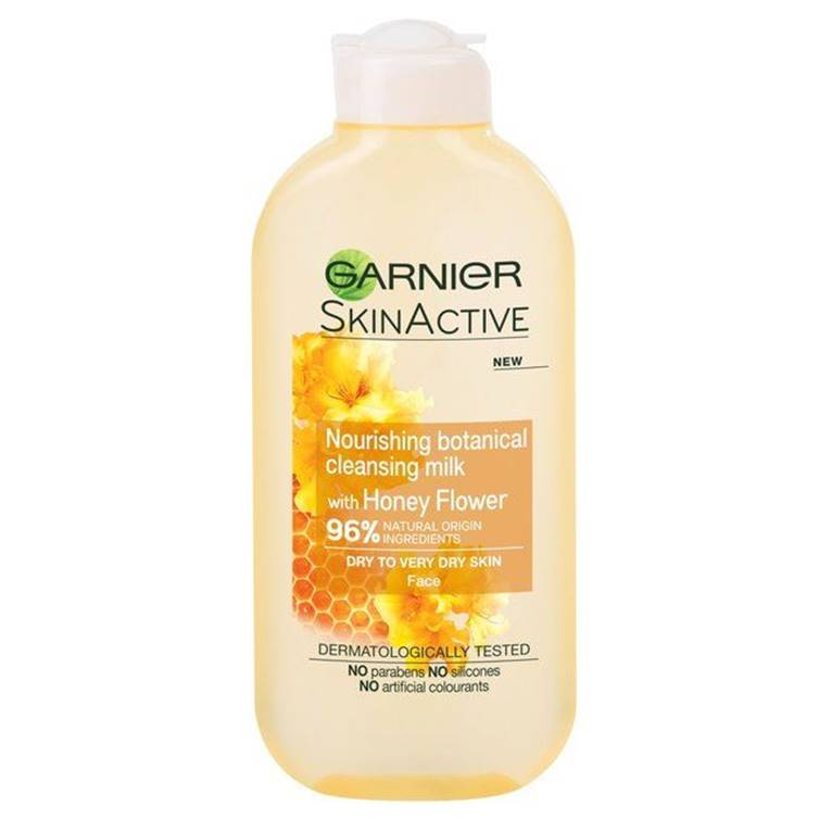 Garnier Nourishing Botanical Honey Flowers Cleansing Milk 200ml