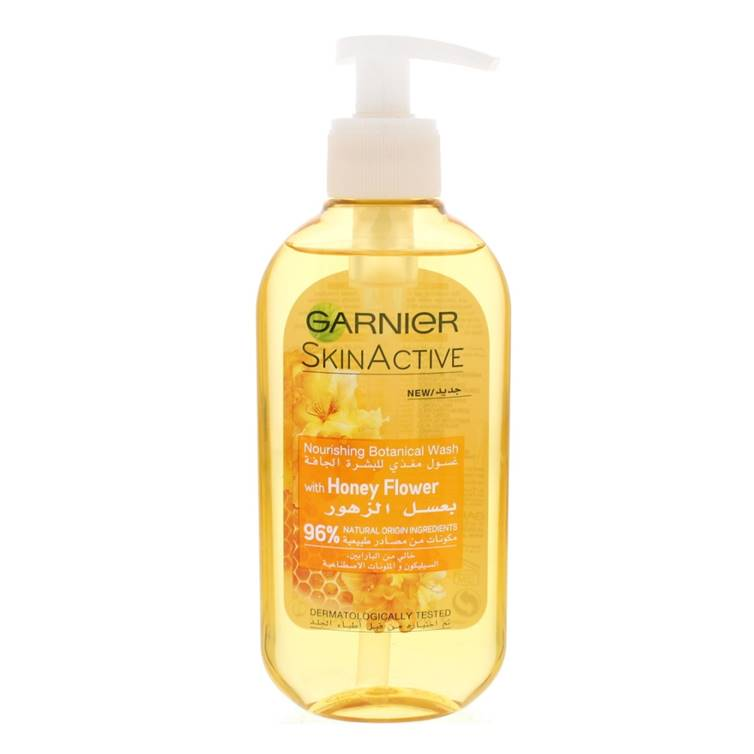 Garnier Skin Active Nourishing Botanical Wash With Honey Flower