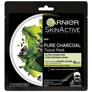 Garnier Skin Active Pure Charcoal Pore Refining + Hydrating Face Mask
