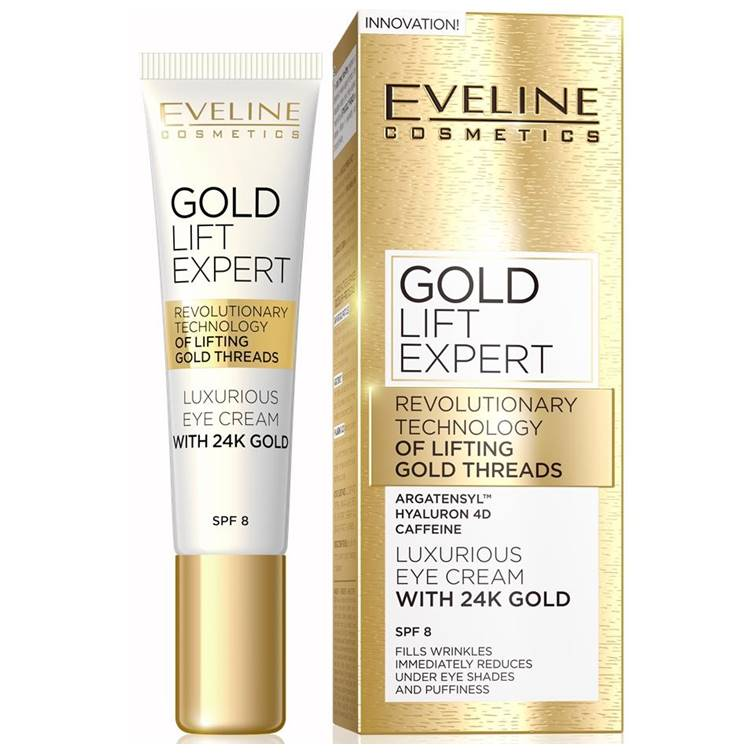 Eveline Gold Lift Expert Eye Cream