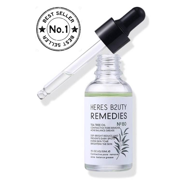HERES B2UTY Acne Removal Repair Scar Natural Tea Tree Oil Serum