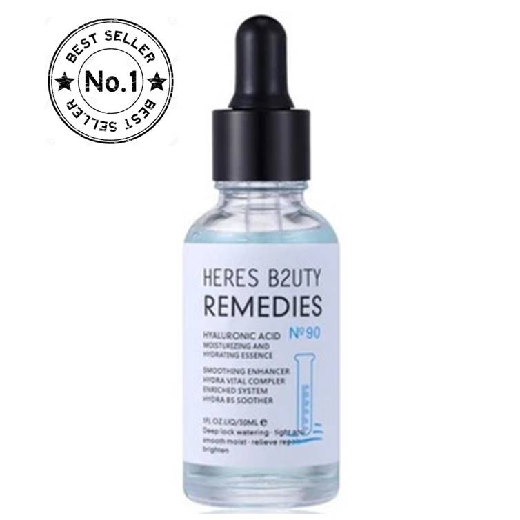 HERES B2UTY Hyaluronic Acid Moisturizing and Hydrating Essence Face Serum