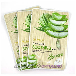Haokali Fruits Gelato Soothing Sheet Mask Aloe Vera