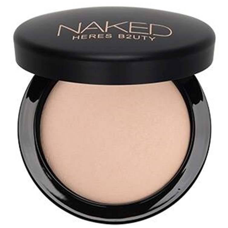 Heres B2uty Naked Mineralize Face Powder Ivory