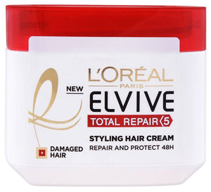 L'Oreal Paris Elvive Total Repair 5 Styling Hair Cream For Damaged Hair 200ml