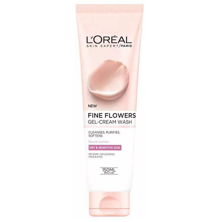 L'Oreal Fine Flowers Gel Cream Wash 150 ml