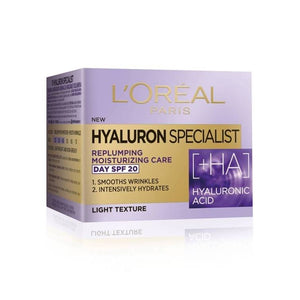 L'Oreal Hyaluron Specialist Replumping Moisturizing Care Day SPF 20