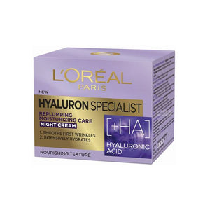 L'Oreal Hyaluron Specialist Replumping Moisturizing Care Night Cream