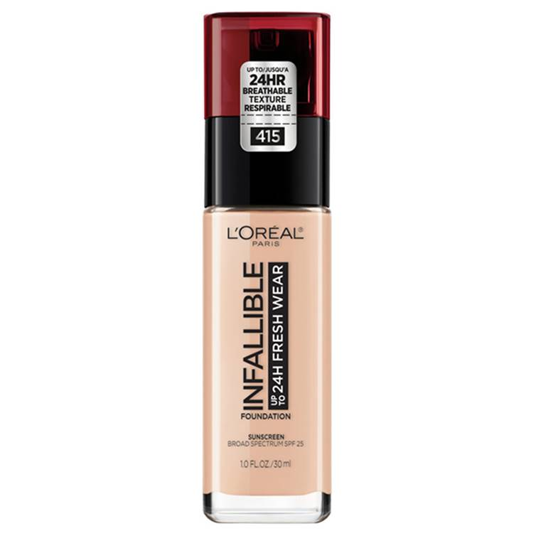 L'Oreal Infallible 24H Liquid Foundation Rose Ivory 25
