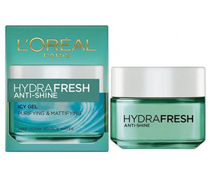 L'Oreal Paris Hydra Fresh Anti-Shine Purifying & Mattifying Icy Gel