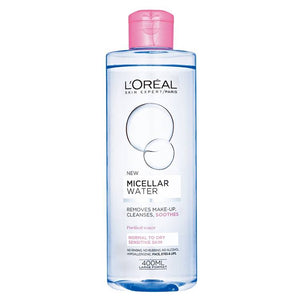 L'Oreal Paris Micellar Cleansing Water Sensitive Normal to Dry Sensitive Skin 400ml