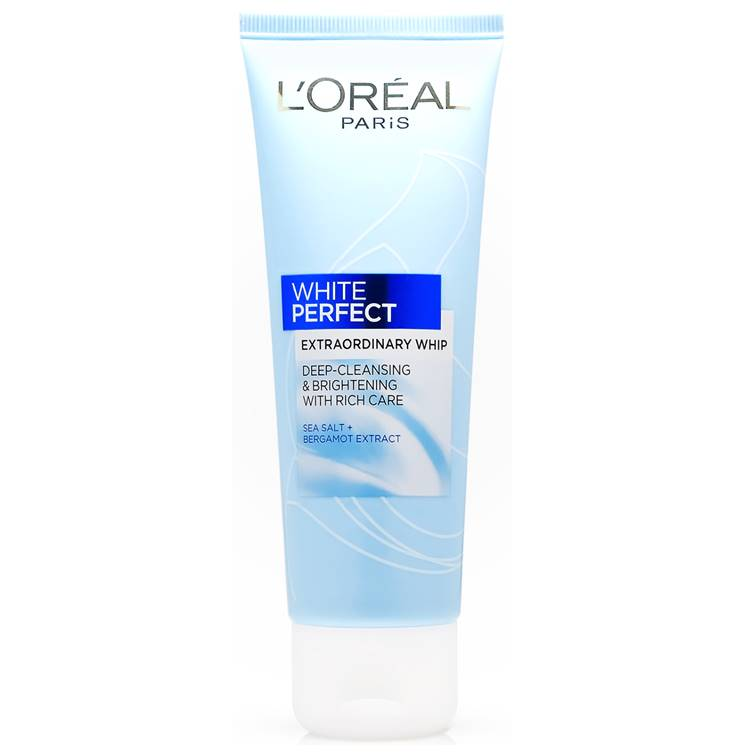 L'Oreal Paris White Perfect Extraordinary Whip Face wash