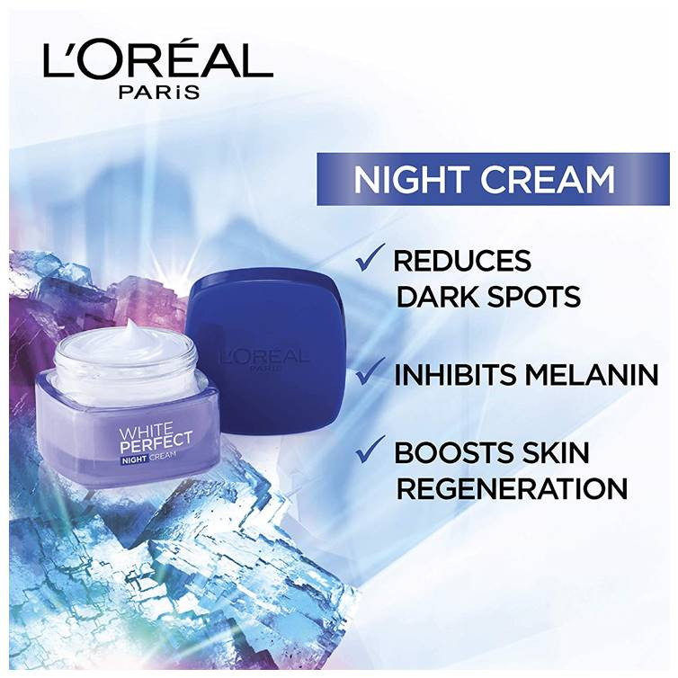 L'Oreal Paris White Perfect Night Cream