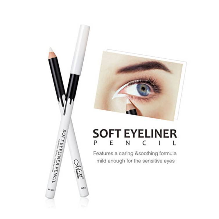 MENOW Soft Eyeliner Pencil White