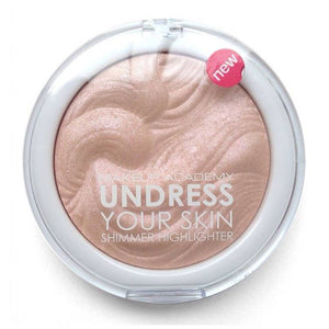 MUA undress your skin highlighter powder pink shimmer