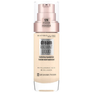 Maybelline Dream Radiant Liquid Foundation Light Porcelain