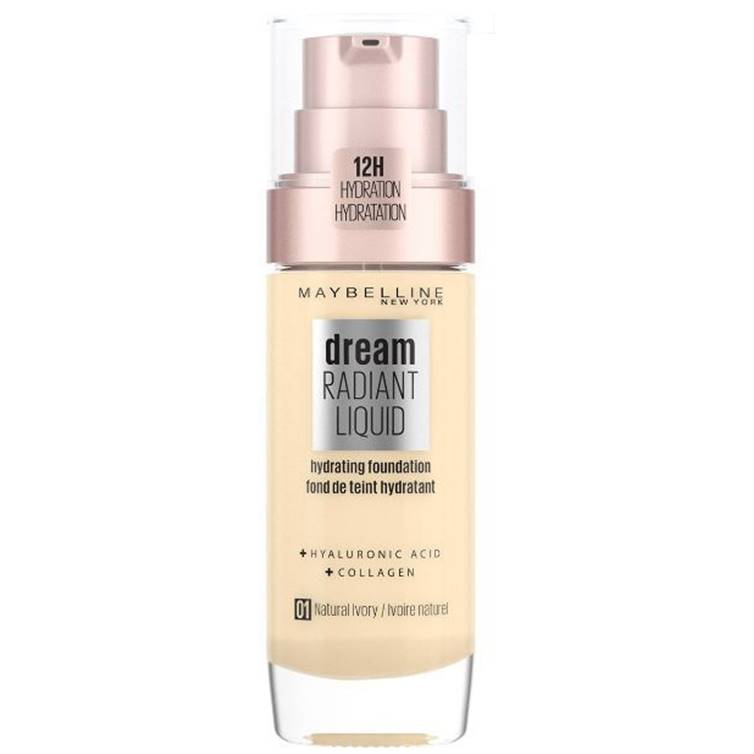 Maybelline Dream Radiant Liquid Foundation Natural Ivory