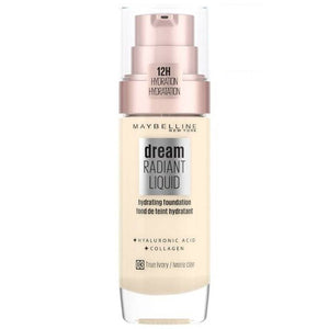 Maybelline Dream Radiant Liquid Foundation True Ivory