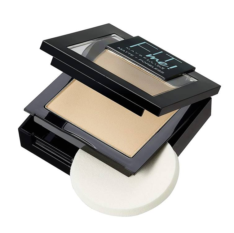 Maybelline Fit Me Matte And Poreless Powder 100 Warm Ivory (Imported)