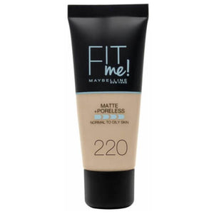Maybelline Fit Me Matte & Poreless Foundation Natural Beige 220