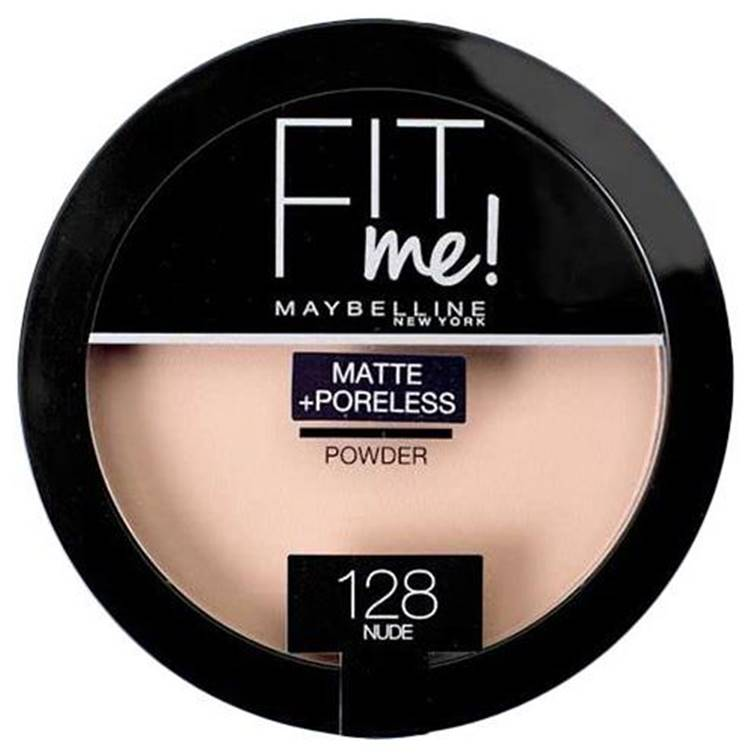Maybelline New York Fit Me Powder Nude 128