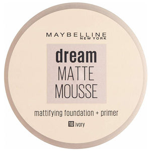 Maybelline Dream Matte Mousse Foundation + Primer Ivory