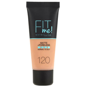 Maybelline Fit Me Matte & Poreless Foundation Classic Ivory 120