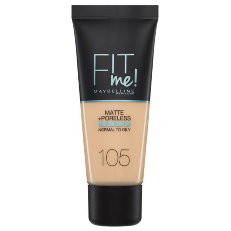 Maybelline Fit Me Matte & Poreless Foundation Natural Ivory 105