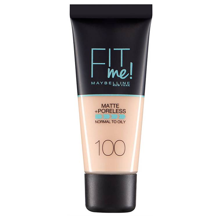 Maybelline Fit Me Matte & Poreless Foundation Warm Ivory 100