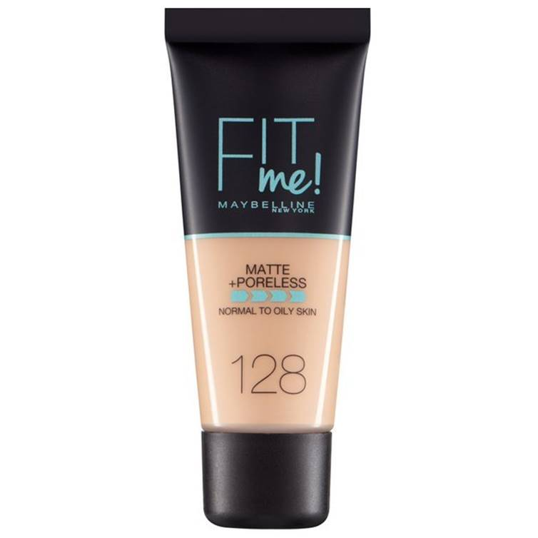 Maybelline Fit Me Matte & Poreless Foundation Warm Nude 128