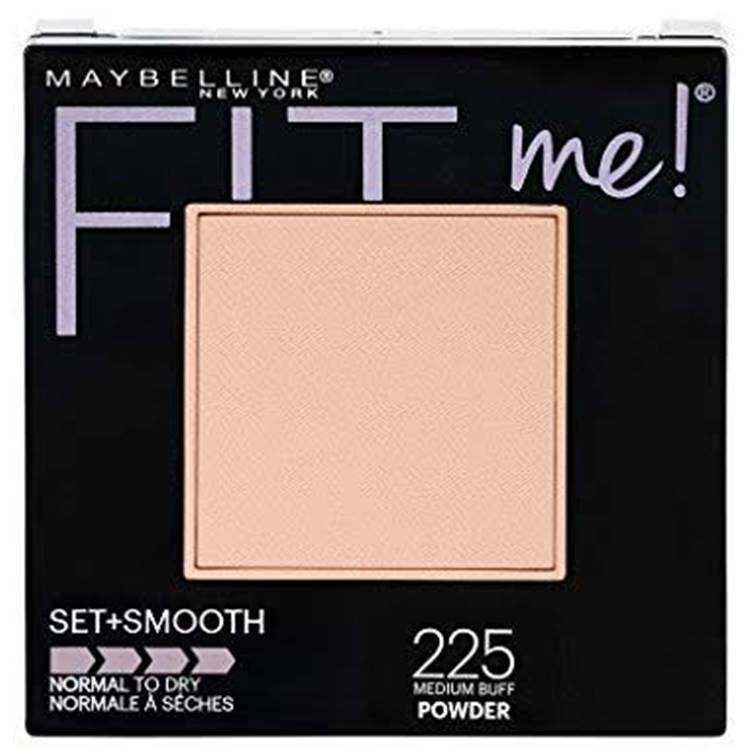 Maybelline Fit Me Set + Smooth Powder Medium Beige 225