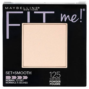 Maybelline Fit Me Set + Smooth Powder Nude Beige 125