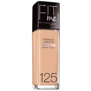 Maybelline Liquid Fit Me Foundation Nude Beige 125