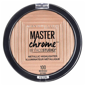 Maybelline Master Chrome Extreme Highlighter 100 Molten Gold