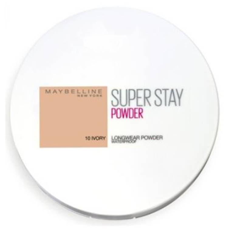 Maybelline Super Stay Face Powder Makeup Ivory 10