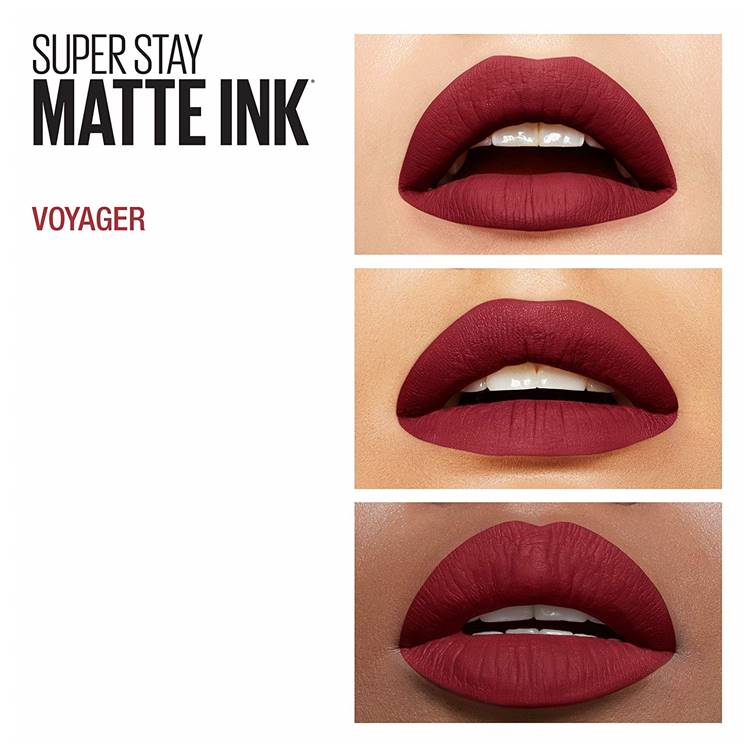 Maybelline Superstay Matte Ink Liquid Lipstick 50 Voyager