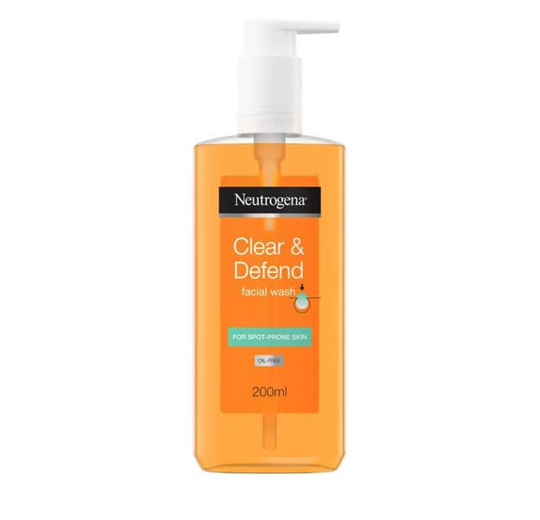 Neutrogena Clear & Defend Facial Wash 200ml