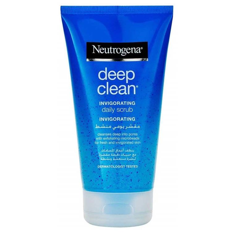 Neutrogena Deep Clean Invigorating Exfoliating Gel 150ml